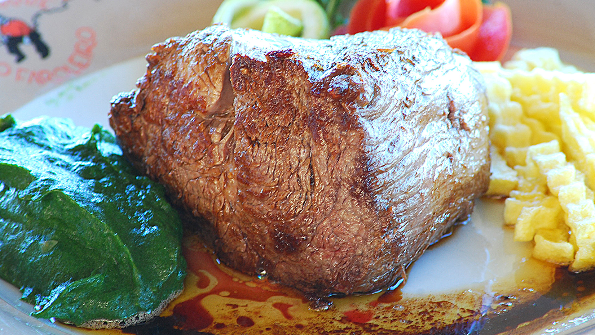 Our  famous Chateaubriand!