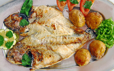 Grilles Fish - Sea Bass or Gilt-head Bream