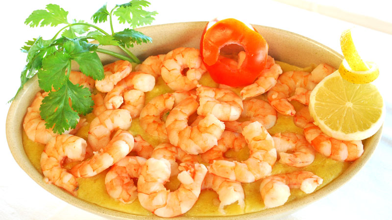 Shrimp Açorda